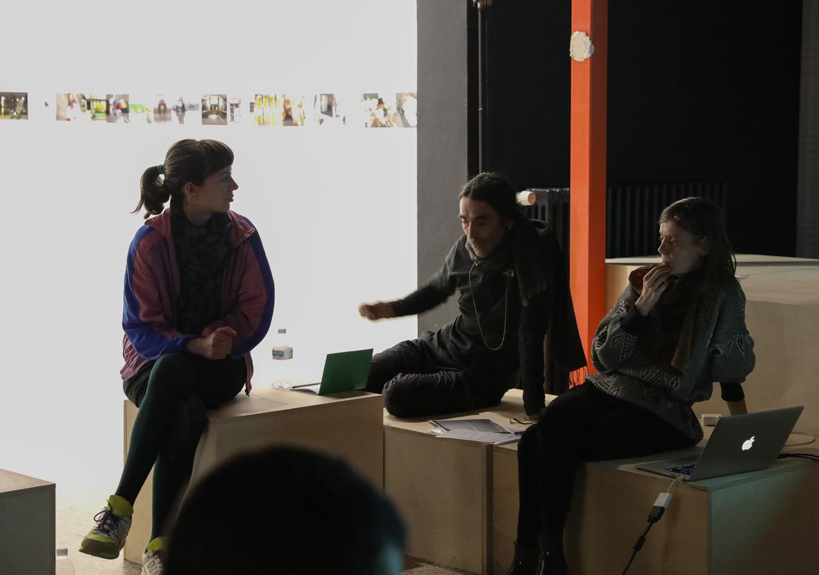 w_TriggerPartyXing_01.03.17_Natalia Trejbalova, Daniele Gasparinetti e Silvia Fanti_ph. Sara Scanderebech